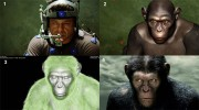 Andy Serkis - Motion capture in in Rise of the Planet of the Apes