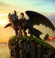 Hiccup en draak Toothless uit How to Train Your Dragon 2