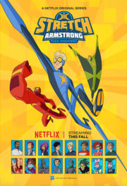 Poster Stretch Armstrong and the Flex Fighters